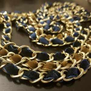 ESPRIT chain & ribbon necklace